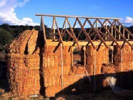 A szalmaház szerkezete
