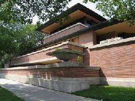 Frank Lloyd Wright ház