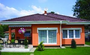 Egy könnyűszerkezetes ház