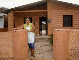 Brazil újrahasznosított ház