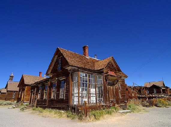 Bodie szellemváros USA Nevada